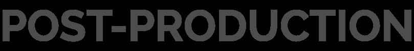 Headline_PostProduction